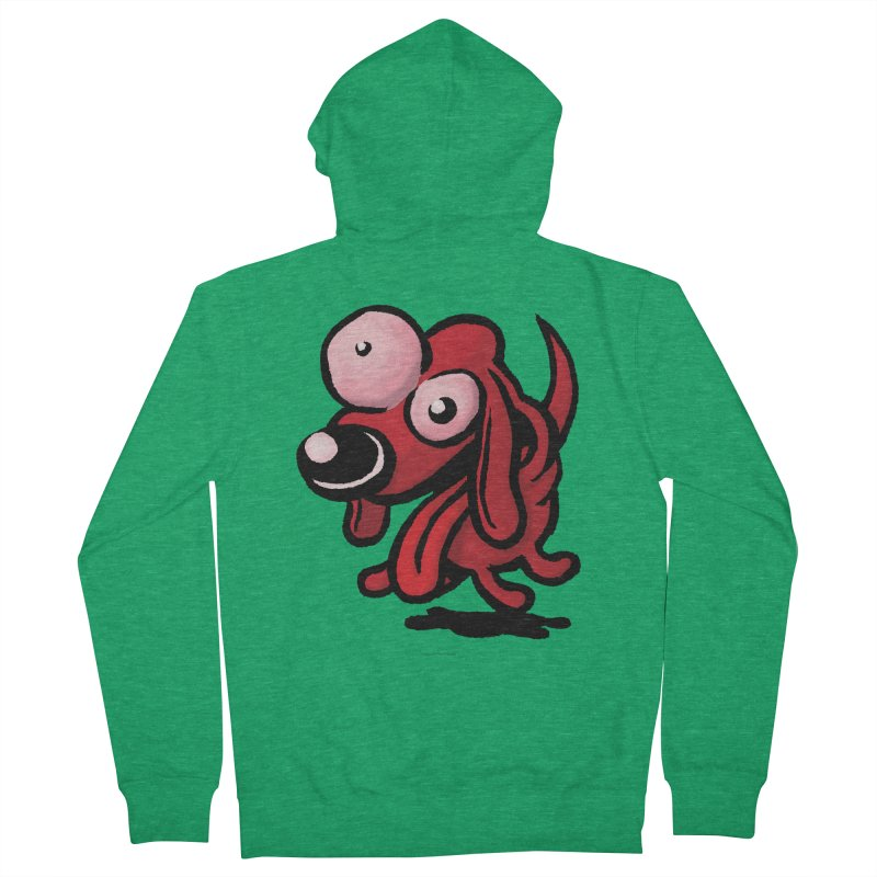 Squirmish Card A64: EXCITOPUP Men's French Terry Zip-Up Hoody by STWALLSKULL's Shirt Shack