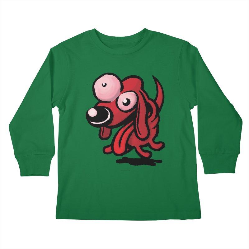 Squirmish Card A64: EXCITOPUP Kids Longsleeve T-Shirt by STWALLSKULL's Shirt Shack