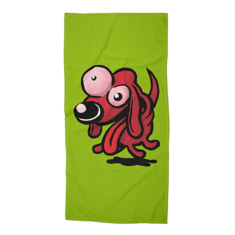 Squirmish Card A64: EXCITOPUP Accessories Beach Towel by STWALLSKULL's Shirt Shack