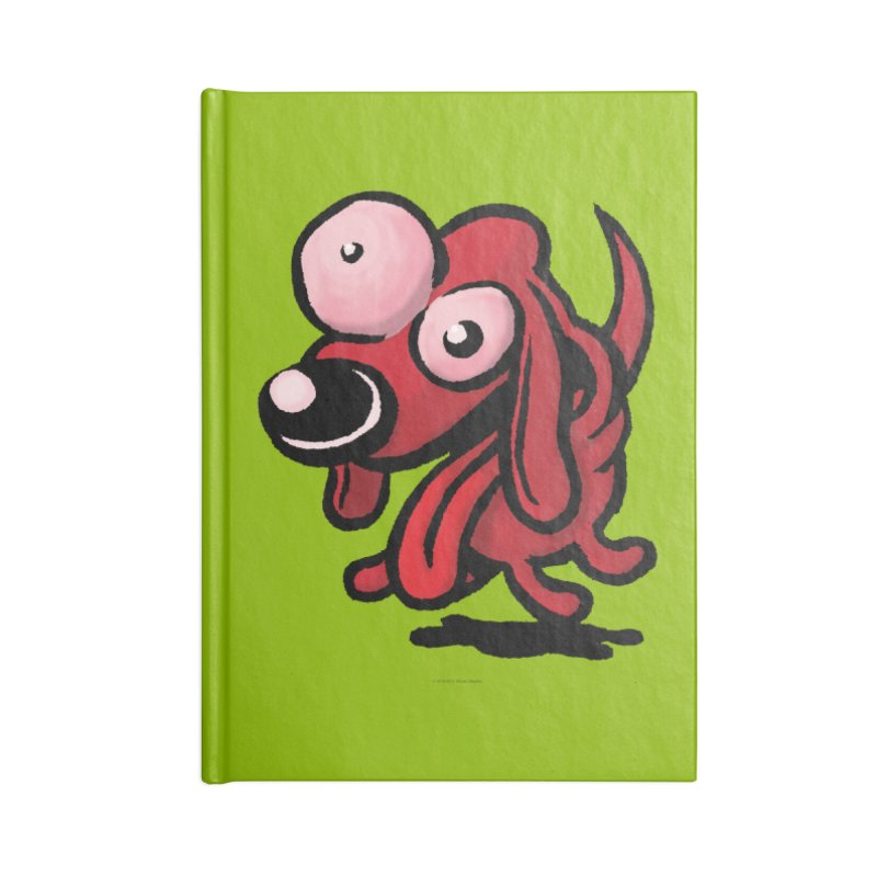 Squirmish Card A64: EXCITOPUP Accessories Blank Journal Notebook by STWALLSKULL's Shirt Shack