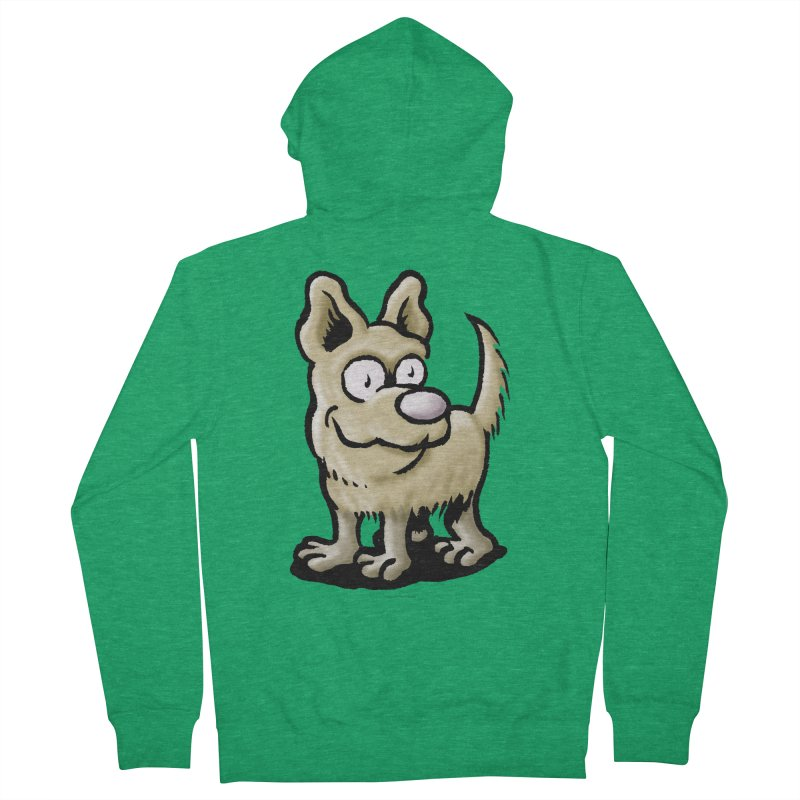 Squirmish Card A65: RUGGLES Women's French Terry Zip-Up Hoody by STWALLSKULL's Shirt Shack