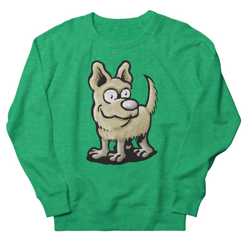 Squirmish Card A65: RUGGLES Women's French Terry Sweatshirt by STWALLSKULL's Shirt Shack