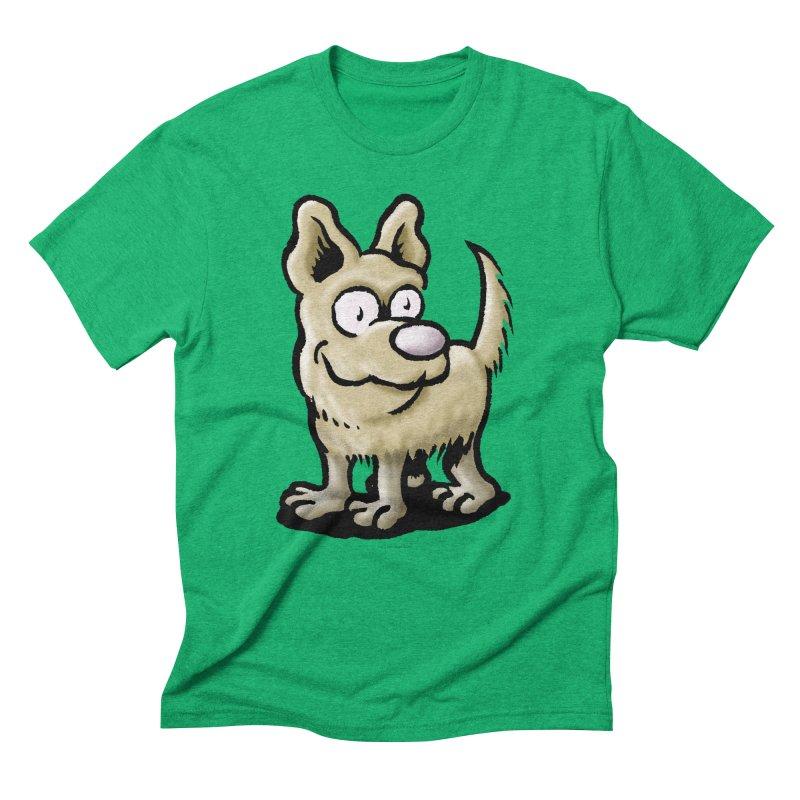 Squirmish Card A65: RUGGLES Men's Triblend T-Shirt by STWALLSKULL's Shirt Shack