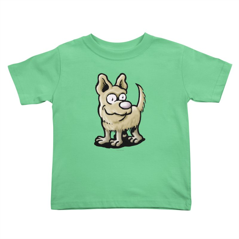 Squirmish Card A65: RUGGLES Kids Toddler T-Shirt by STWALLSKULL's Shirt Shack