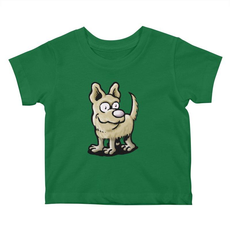 Squirmish Card A65: RUGGLES Kids Baby T-Shirt by STWALLSKULL's Shirt Shack