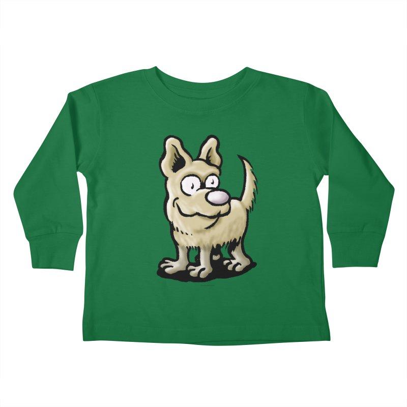 Squirmish Card A65: RUGGLES Kids Toddler Longsleeve T-Shirt by STWALLSKULL's Shirt Shack