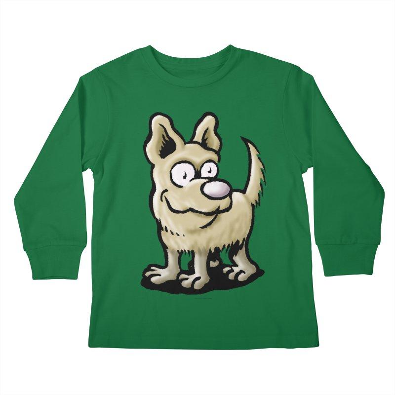 Squirmish Card A65: RUGGLES Kids Longsleeve T-Shirt by STWALLSKULL's Shirt Shack