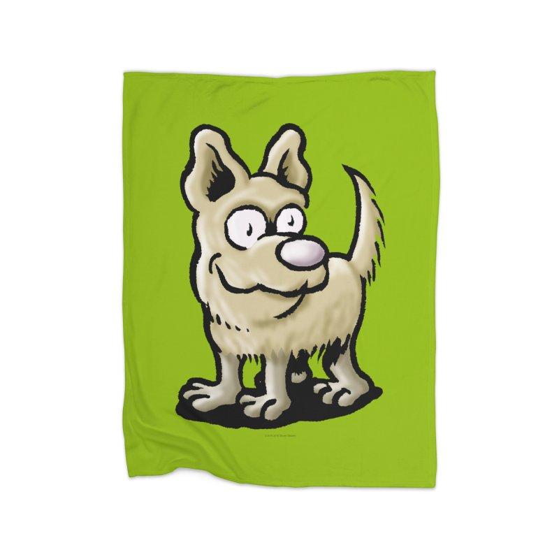 Squirmish Card A65: RUGGLES Home Fleece Blanket Blanket by STWALLSKULL's Shirt Shack
