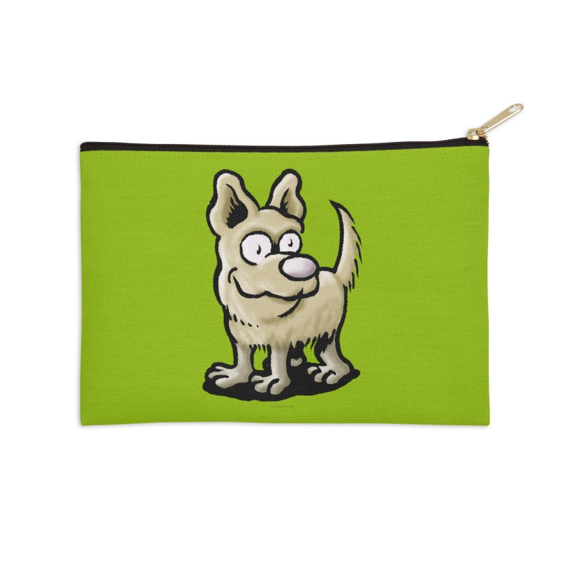 Squirmish Card A65: RUGGLES Accessories Zip Pouch by STWALLSKULL's Shirt Shack