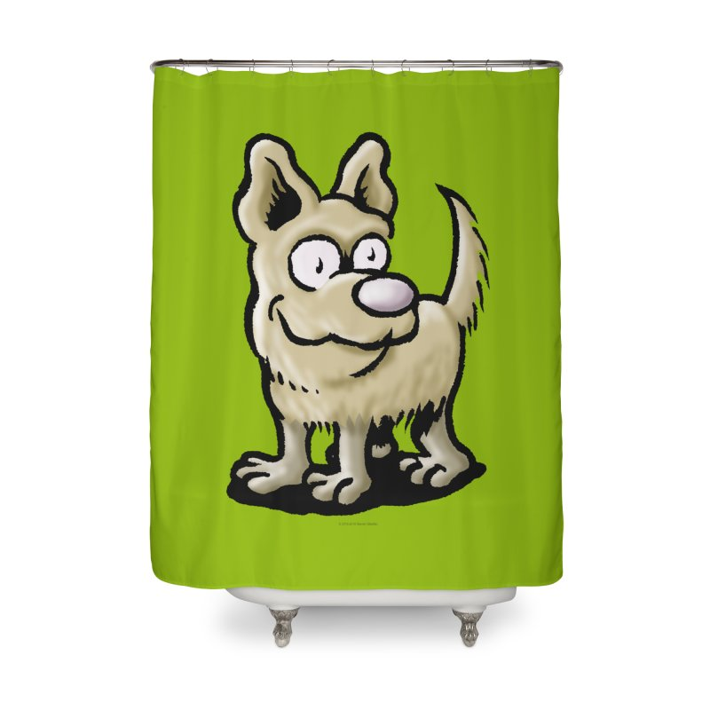 Squirmish Card A65: RUGGLES Home Shower Curtain by STWALLSKULL's Shirt Shack