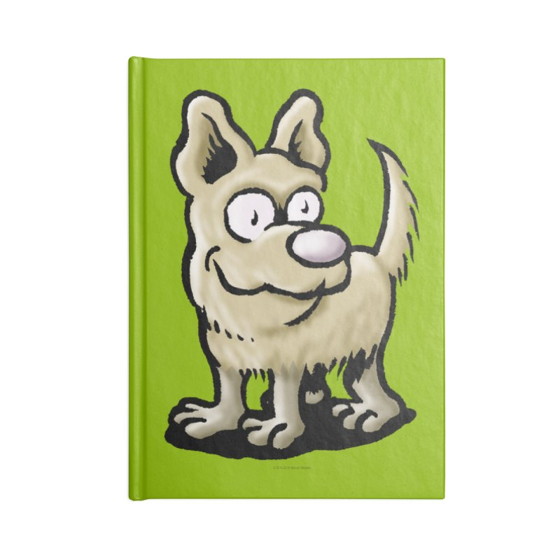 Squirmish Card A65: RUGGLES Accessories Notebook by STWALLSKULL's Shirt Shack