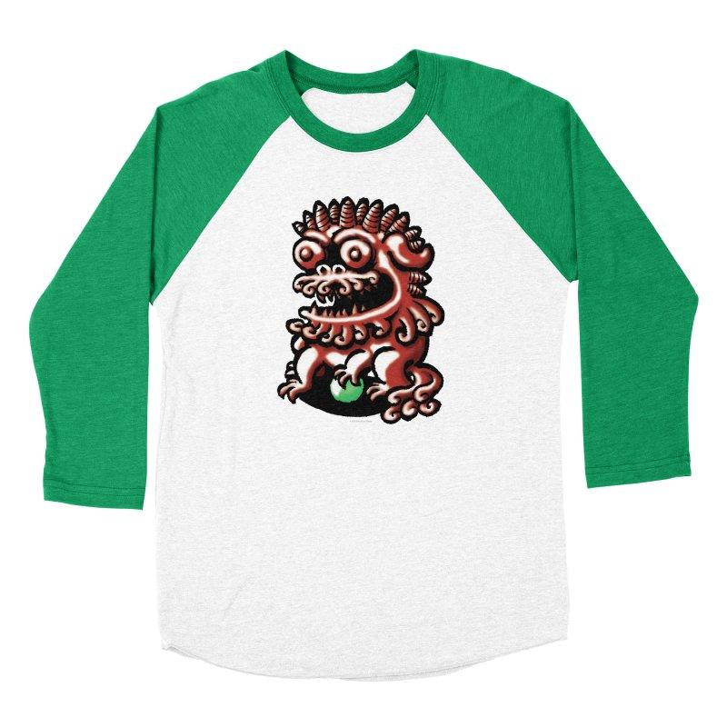Squirmish Card A66: FOO DOG Men's Longsleeve T-Shirt by STWALLSKULL's Shirt Shack