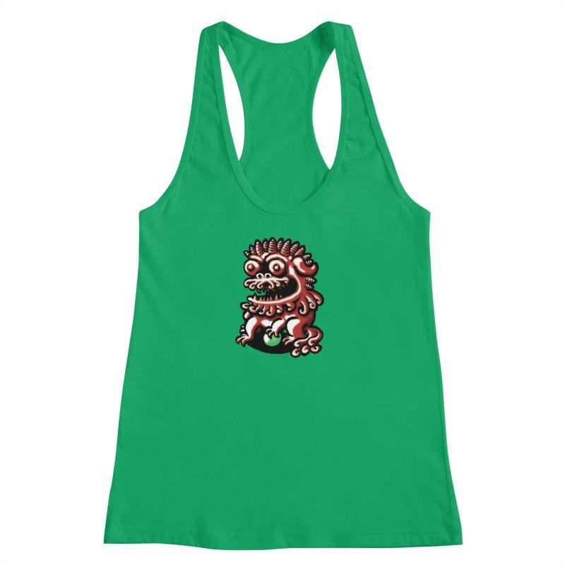 Squirmish Card A66: FOO DOG Women's Tank by STWALLSKULL's Shirt Shack