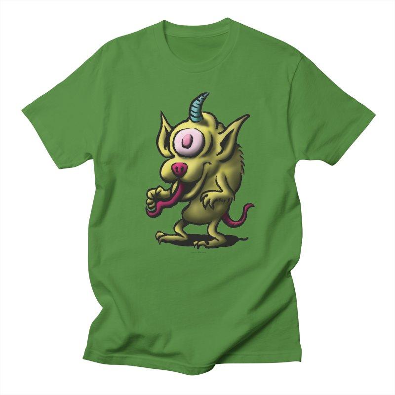 Squirmish Card A67: UNO OJO Men's T-Shirt by STWALLSKULL's Shirt Shack
