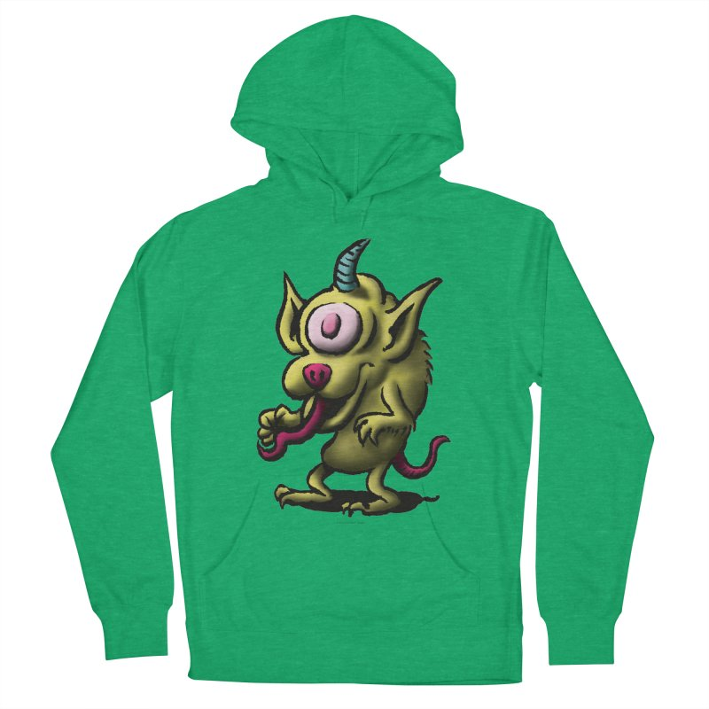 Squirmish Card A67: UNO OJO Men's French Terry Pullover Hoody by STWALLSKULL's Shirt Shack