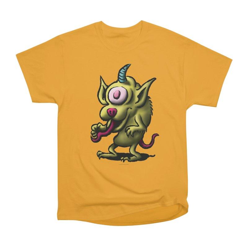 Squirmish Card A67: UNO OJO Men's Heavyweight T-Shirt by STWALLSKULL's Shirt Shack