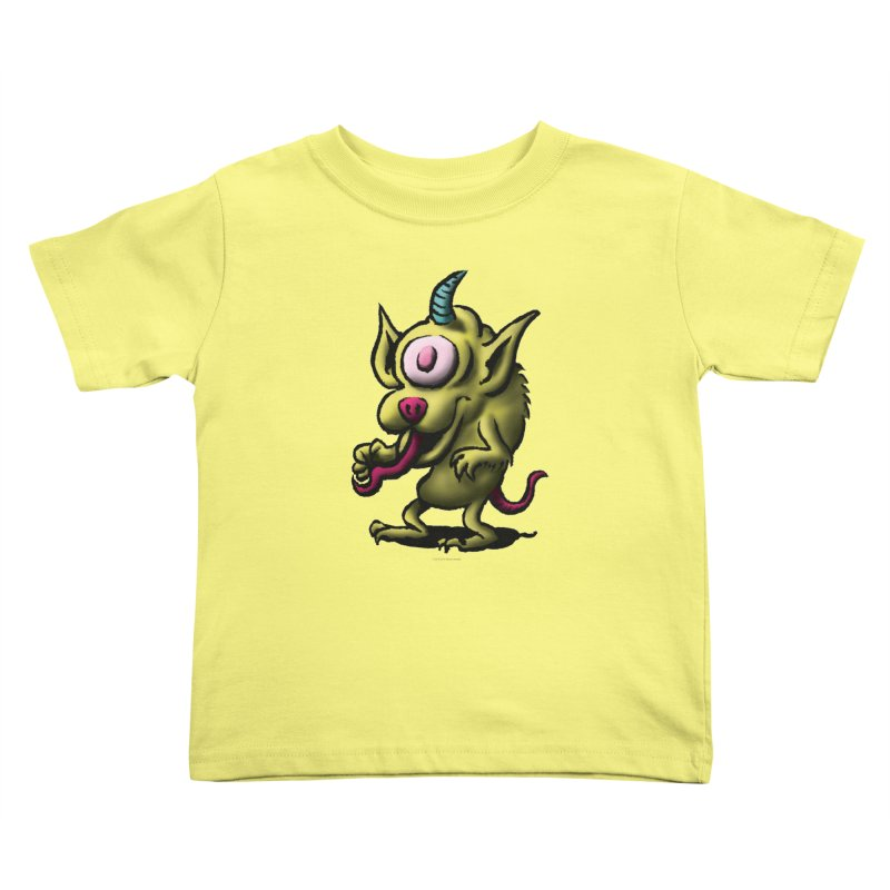 Squirmish Card A67: UNO OJO Kids Toddler T-Shirt by STWALLSKULL's Shirt Shack