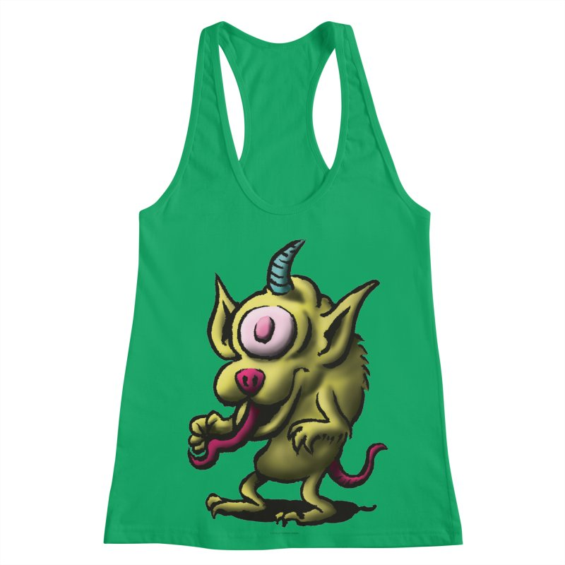 Squirmish Card A67: UNO OJO Women's Tank by STWALLSKULL's Shirt Shack