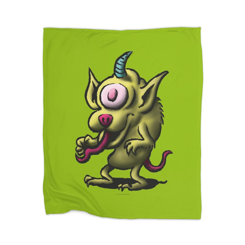 Squirmish Card A67: UNO OJO Home Blanket by STWALLSKULL's Shirt Shack
