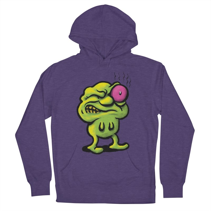 Squirmish Card A68: STINKEYE Men's French Terry Pullover Hoody by STWALLSKULL's Shirt Shack