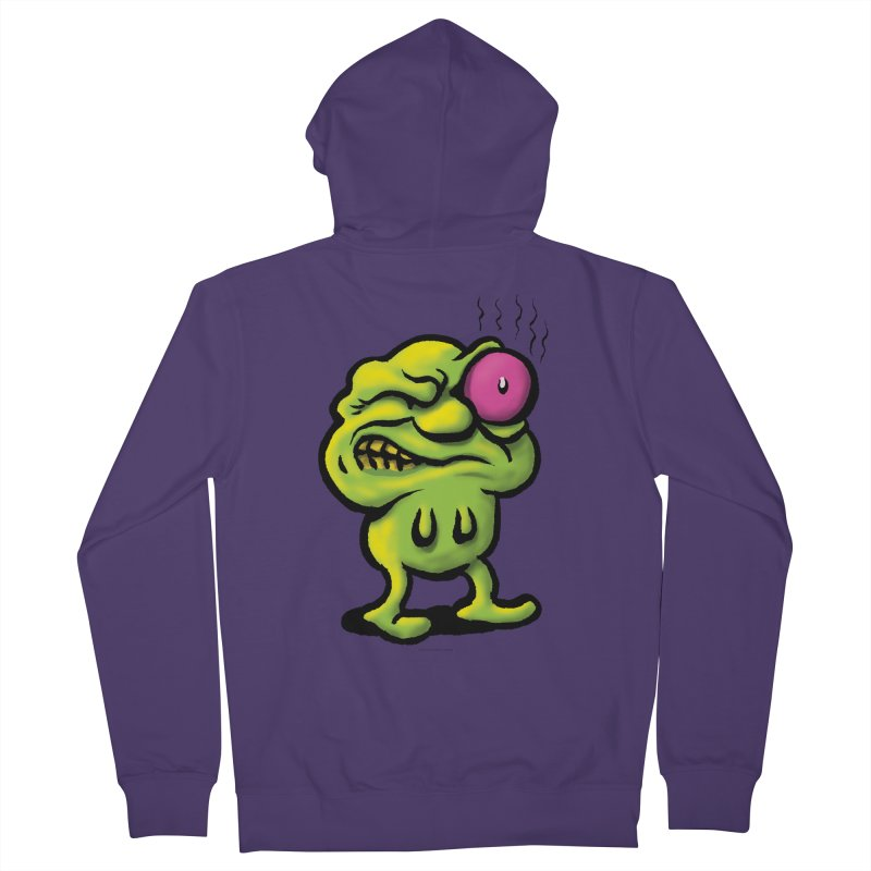 Squirmish Card A68: STINKEYE Women's French Terry Zip-Up Hoody by STWALLSKULL's Shirt Shack