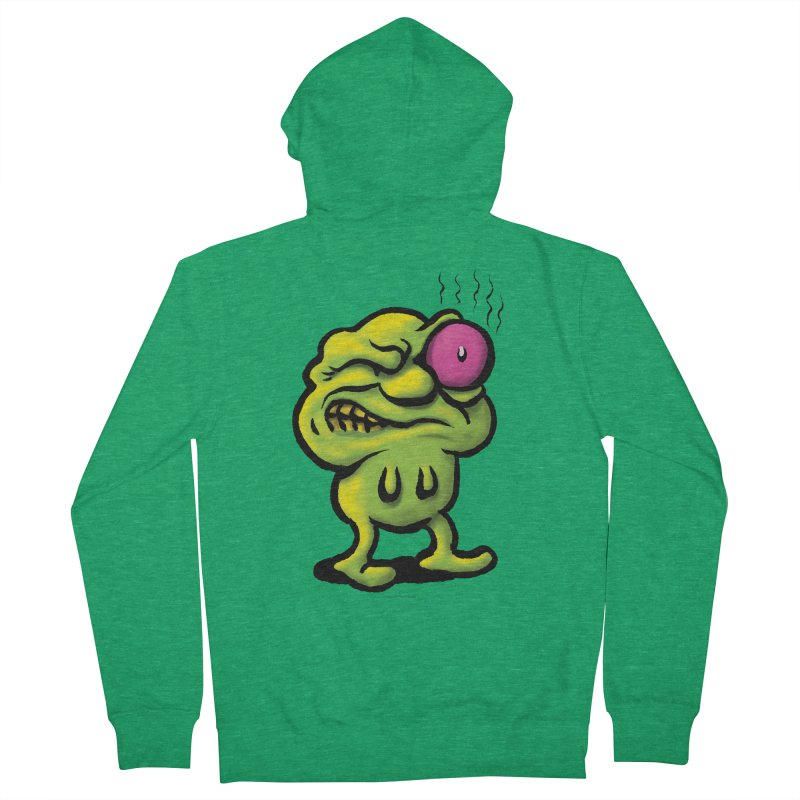 Squirmish Card A68: STINKEYE Men's French Terry Zip-Up Hoody by STWALLSKULL's Shirt Shack