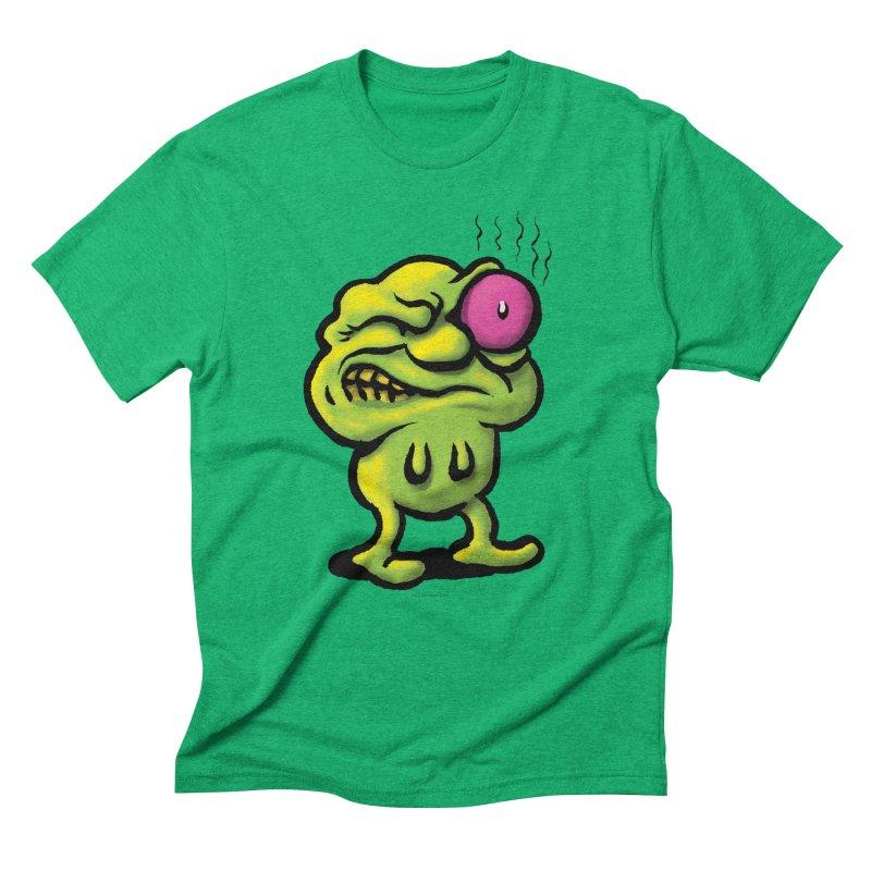 Squirmish Card A68: STINKEYE Men's Triblend T-Shirt by STWALLSKULL's Shirt Shack