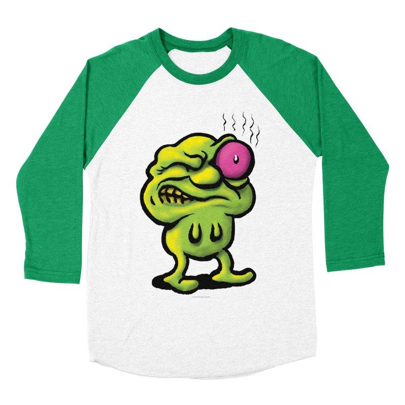 Squirmish Card A68: STINKEYE Women's Baseball Triblend Longsleeve T-Shirt by STWALLSKULL's Shirt Shack