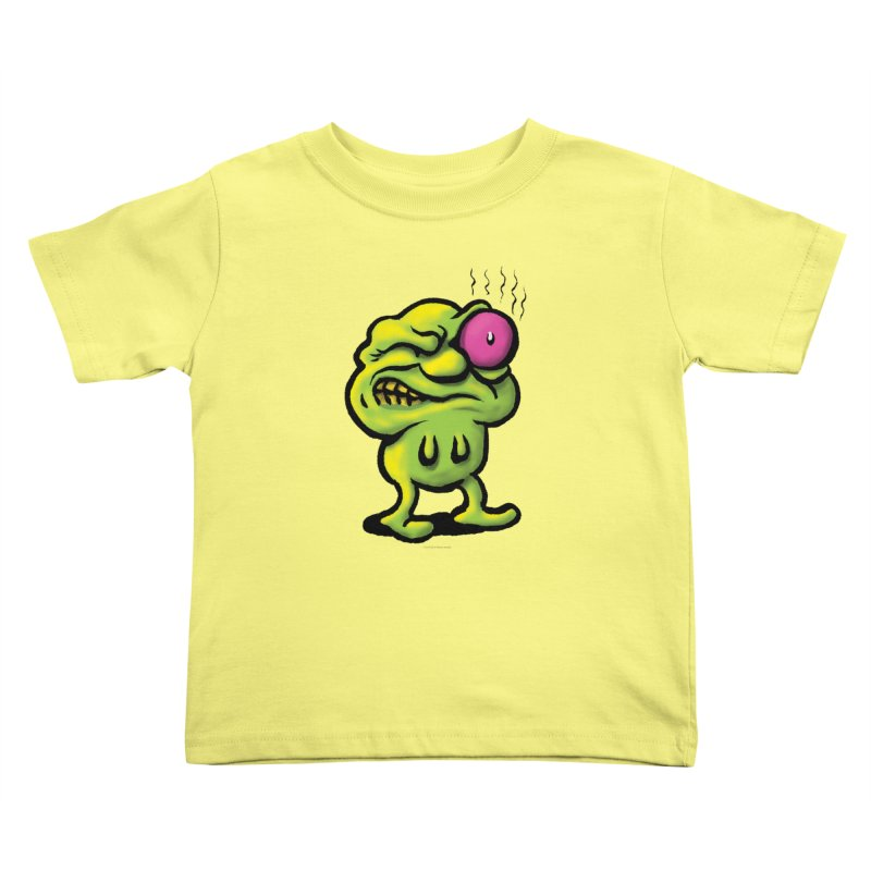 Squirmish Card A68: STINKEYE Kids Toddler T-Shirt by STWALLSKULL's Shirt Shack