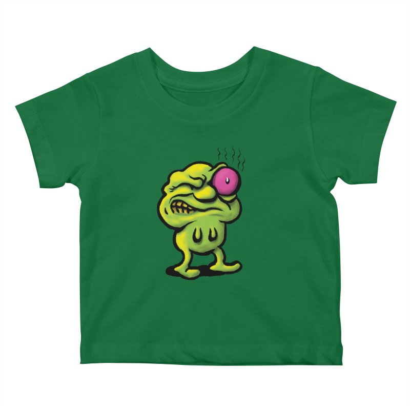 Squirmish Card A68: STINKEYE Kids Baby T-Shirt by STWALLSKULL's Shirt Shack