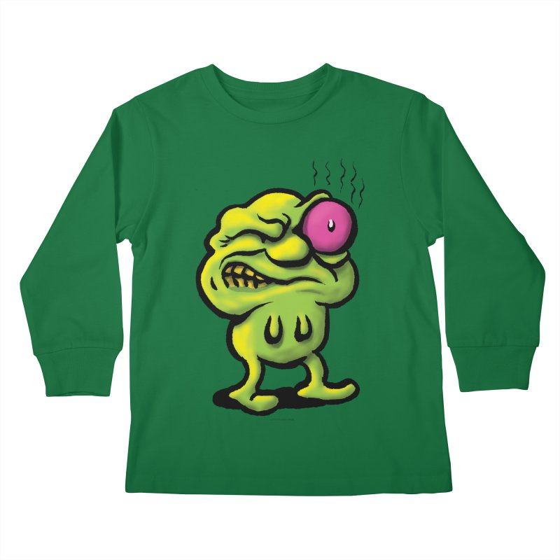 Squirmish Card A68: STINKEYE Kids Longsleeve T-Shirt by STWALLSKULL's Shirt Shack
