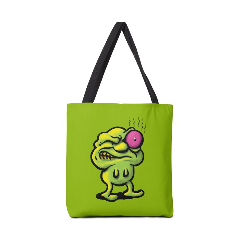 Squirmish Card A68: STINKEYE Accessories Tote Bag Bag by STWALLSKULL's Shirt Shack