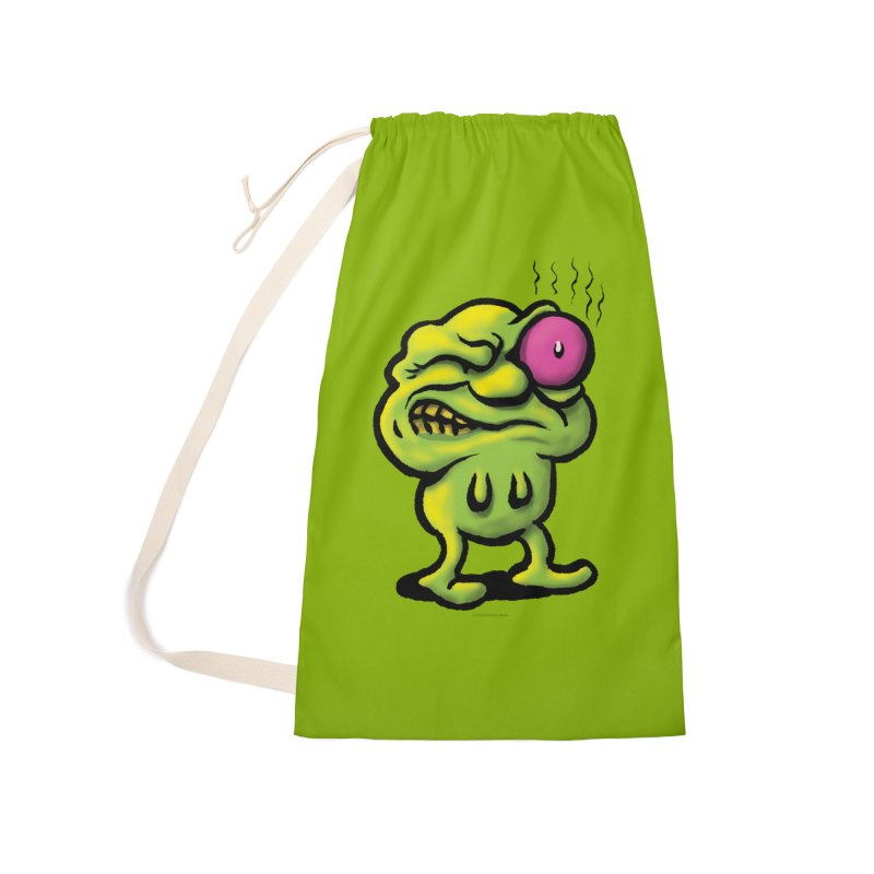 Squirmish Card A68: STINKEYE Accessories Laundry Bag Bag by STWALLSKULL's Shirt Shack