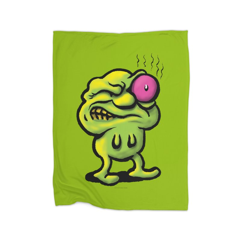 Squirmish Card A68: STINKEYE Home Blanket by STWALLSKULL's Shirt Shack