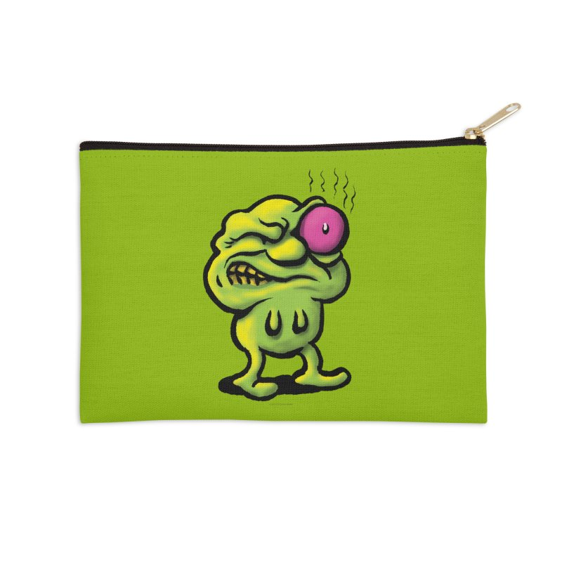 Squirmish Card A68: STINKEYE Accessories Zip Pouch by STWALLSKULL's Shirt Shack