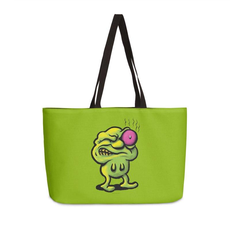 Squirmish Card A68: STINKEYE Accessories Weekender Bag Bag by STWALLSKULL's Shirt Shack
