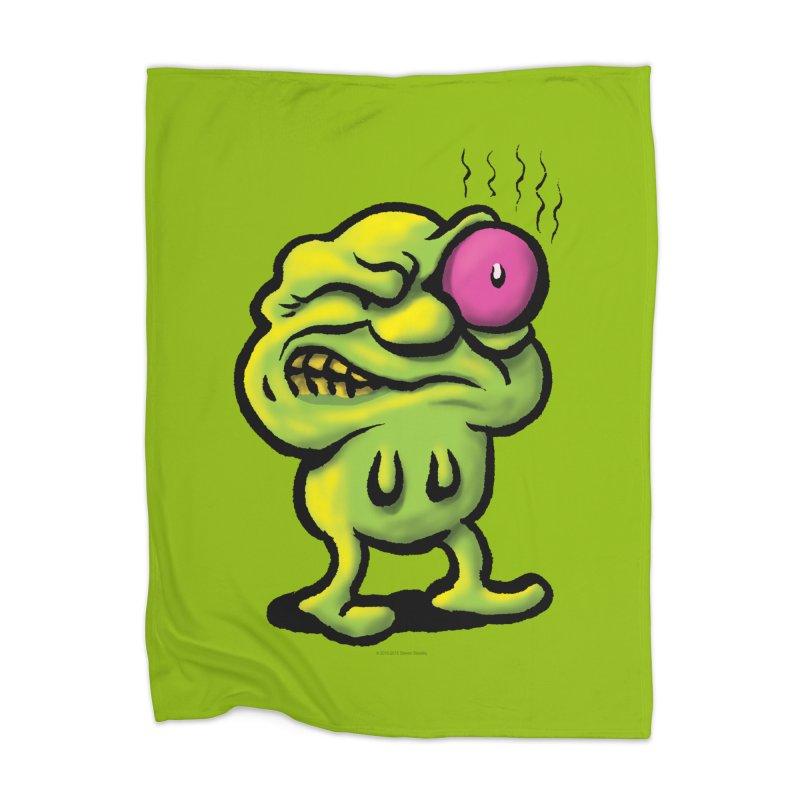 Squirmish Card A68: STINKEYE Home Blanket by STWALLSKULL's Shirt Shack