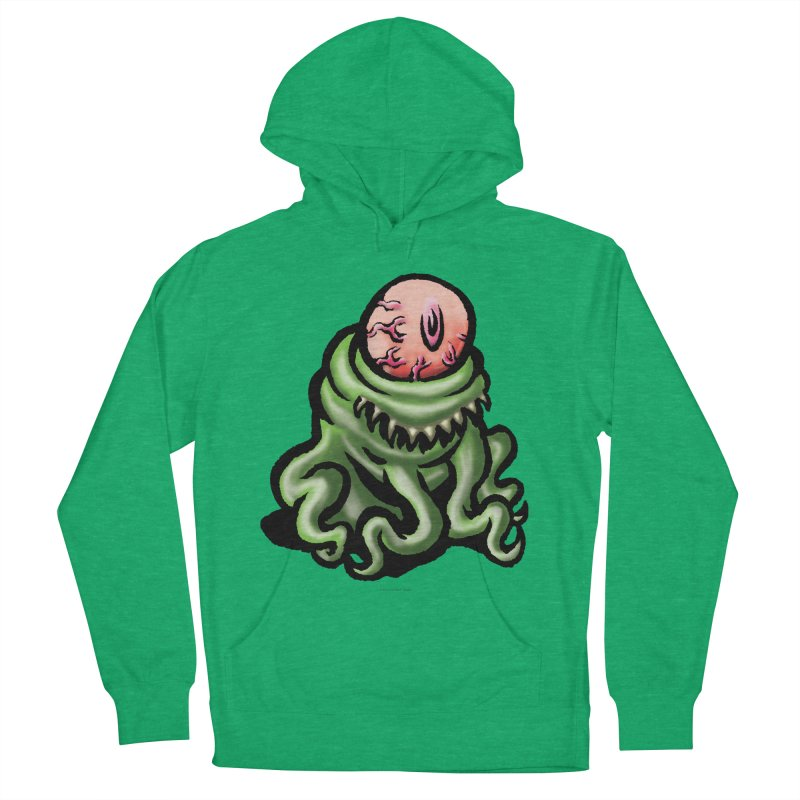 Squirmish Card A69: PINKEYE Women's French Terry Pullover Hoody by STWALLSKULL's Shirt Shack