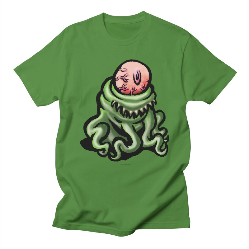 Squirmish Card A69: PINKEYE Men's T-Shirt by STWALLSKULL's Shirt Shack