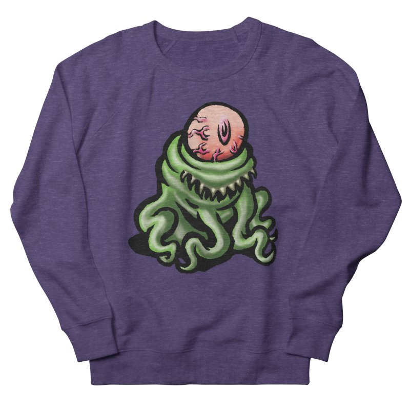 Squirmish Card A69: PINKEYE Men's French Terry Sweatshirt by STWALLSKULL's Shirt Shack