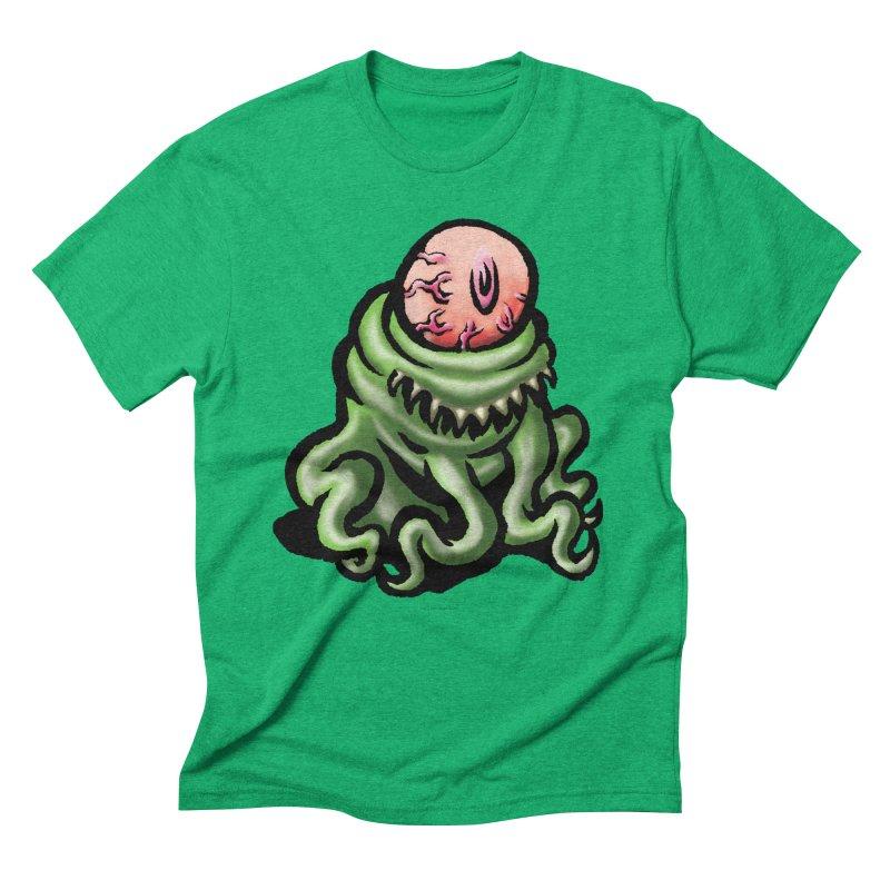 Squirmish Card A69: PINKEYE Men's Triblend T-Shirt by STWALLSKULL's Shirt Shack
