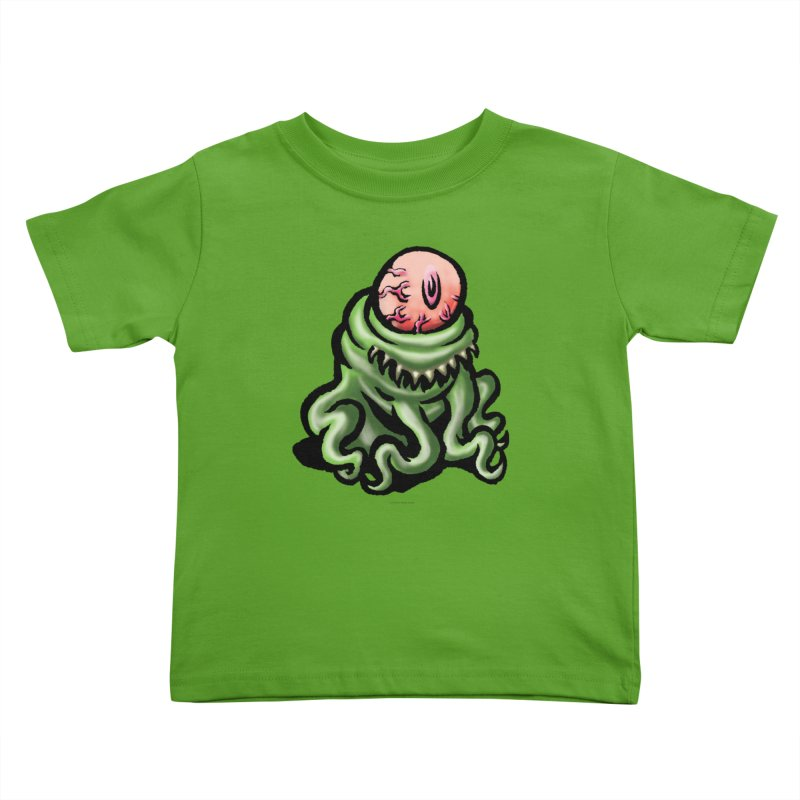 Squirmish Card A69: PINKEYE Kids Toddler T-Shirt by STWALLSKULL's Shirt Shack