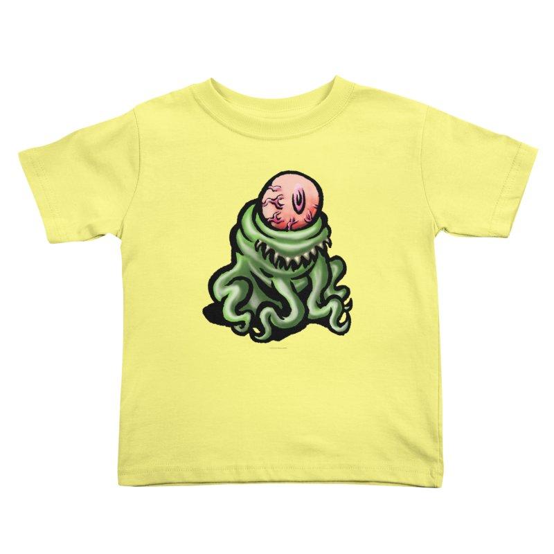 Squirmish Card A69: PINKEYE Kids Toddler T-Shirt by STWALLSKULL's Shirt Shack