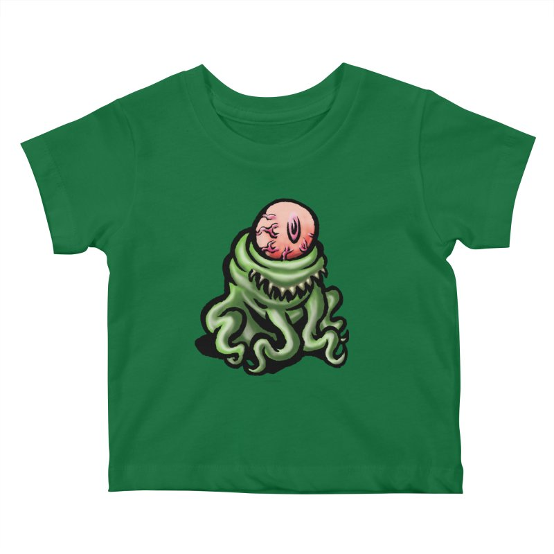 Squirmish Card A69: PINKEYE Kids Baby T-Shirt by STWALLSKULL's Shirt Shack