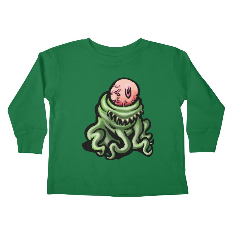 Squirmish Card A69: PINKEYE Kids Toddler Longsleeve T-Shirt by STWALLSKULL's Shirt Shack
