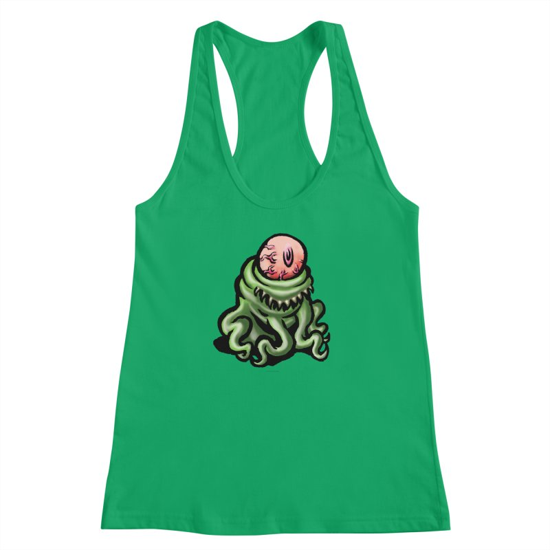 Squirmish Card A69: PINKEYE Women's Racerback Tank by STWALLSKULL's Shirt Shack