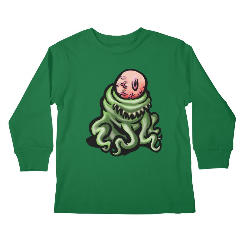 Squirmish Card A69: PINKEYE Kids Longsleeve T-Shirt by STWALLSKULL's Shirt Shack
