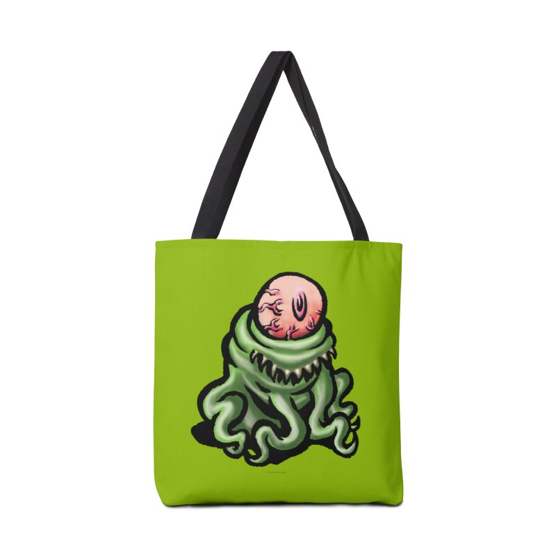Squirmish Card A69: PINKEYE Accessories Tote Bag Bag by STWALLSKULL's Shirt Shack