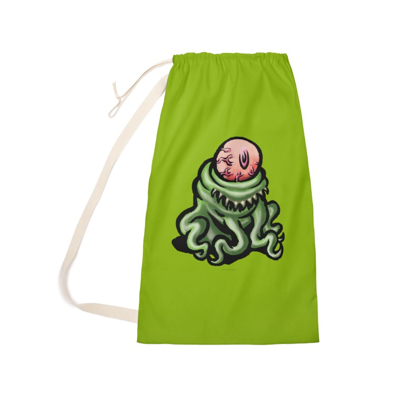 Squirmish Card A69: PINKEYE Accessories Laundry Bag Bag by STWALLSKULL's Shirt Shack