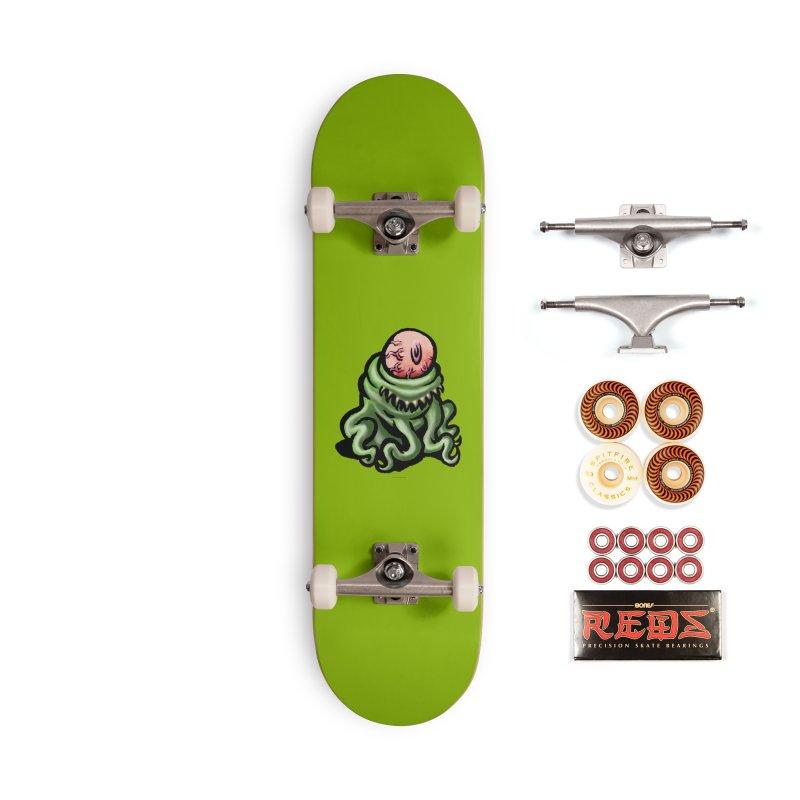 Squirmish Card A69: PINKEYE Accessories Skateboard by STWALLSKULL's Shirt Shack